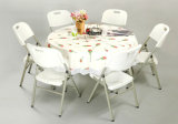 New Cheap Plastic Round Table/Space Saving Furniture (SY-122Y)