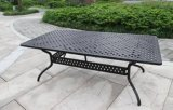 "Outdoor 42""*84"" Cast Aluminum Square Table Furniture"
