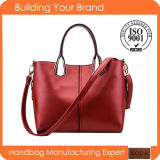 2015 China Newest Wholesale Exported Trendy Leather Women Handbag