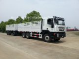 Cargo Truck with Full Trailer