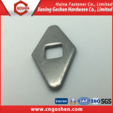 Customized SS304 Diamond Flat Washer with Square Hole