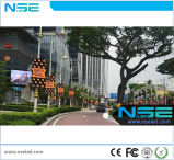 Street Lamp Pole 3G, WiFi Advertising LED Display P6 Outdoor Banner Pole Sign