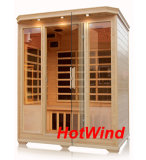 2017 Far Infrared Sauna for 3 Person-H3