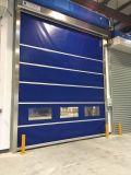 Plastic Interior High Speed Rolling Shutter Doors (HF-1022)