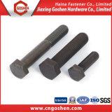 China Supplier High Quality Standard Black Oxide Hex Head Bolt