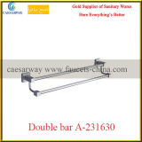 Sanitary Ware Bathroom Accessories All Brass Double Bar