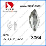 S Shape Rhinestone Jewelry Beads for Sewing Cloth (DZ-3064)