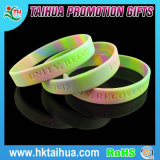 Promotional Camouflage Silicone Wristband with Debossed (TH-0354)