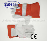 Reinforced Leather Hand Protective Work Glove