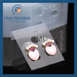 Frosted PVC Earring Studs Cards Jewelry Display Cards