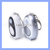 140dB Aloud Key Chain Anti Theft Alarm Rechargeable Personal Alarm for Lady Joggers Student with Adjustable Light