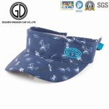 High Quality Cotton Fashion Sports Sun Visor with Embroidery Logo