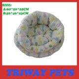 High Quaulity and Comfort Coral Velvet Dog Beds (WY161043A/B)