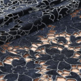 Laser Cut Embroidery Guipure Velvet Lace Fabric for Dress