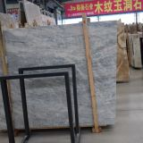 Italy Wood-Grain Grey Marble Slab for Countertop Tile
