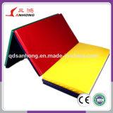High Quality Durable Gym PVC Floor Mat Folding Gymnastics Mat