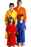 New Fashion 100% Cotton High Quality Super Soft Velvet Bathrobe