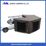 Hottest Half-Round 270 Degree Foxwing Roof Awning for Car Canopy