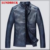PU Jacket for Men Fashion Coat