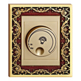 Hotel Brass Dimmer Switch with Rg Finish