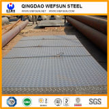 Ss400, A36, Q235, Q345 Checkered Steel Plate