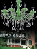 The New 2014 Jade Color Hot Sale Lamps, Modern Lamp, Modern Crystal Chandelier (9018-8)