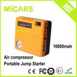 China Mini Jump Starter and Air Inflator 2 in 1 Design