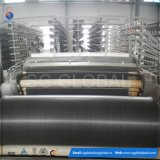 Heavy Duty Black PP Woven Geotextile Fabric