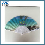 Custom Polyester Foldable Hand Fans with UR Design