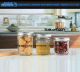 Airtight Caviar Honey Jam Jar Glassware with Tin Cap