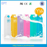 Colorful 2600mAh Milk Box Shape Mini Portable Power Bank