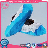 Hot Sale Disposable PP Coated CPE Shoe Cover