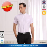 Wholesale Mens Short Sleeve Pink Dress Shirts-Dshm050