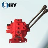 ZFS 2 Spools Hydraulic Multiple Directional Control Valve Hot Sales for Crane