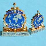 Customized 3D Souvenir Trophy with Soft Enamel