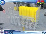 Galvanized Steel Mesh Cage for Warehouse/Construction Site (FLM-K-007)