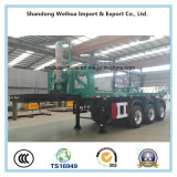 20FT Flatbed Container Semi Trailer, Rear Dump Truck From Manufacture