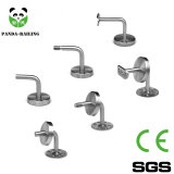 OEM Stainless Steel Railing Glass Fitting and Handrail Bracket with Carbon Steel Base