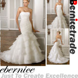 New Stock Mermaid Wedding Bridal Dress Evening Ball Gown (F164)