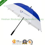 Cheap Manual Fiberglass Straight Golf Umbrella for Advertising (GOL-0027F)