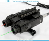 New Military Grade Dual Green Laser Sight and Red Laser Scope Combo (ES-FX-4GR-ML)