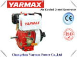 Yarmax Hand Start Air Cooled Single Cylinder 548cc 8.8/9.0kw 12.0/12.2HP Diesel Engine Ym192f