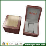 Double Color Square Custom Wood Watch Box