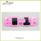 2016 New Style Pink Party Glasses Sunglasses (Joy31-1000)