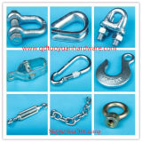 China Manufacturer Marine Hardware Zinc Plated Wire Rope Clip Rigging