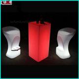 Glow Furniture Illuminated Pillar Block Illuminated Outdoor Table