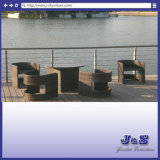 Outdoor Patio Rattan Furniture All - Weather - Garden Barstool Furniture (J417)