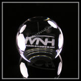 Laser Crystal Ball Paperweight with Flat Bottom (ND-1016)