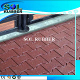 Qualified Outdoor Dog Bone Paver Rubber Flooring