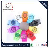 Colorful Fashion Wristwatch Silicone Slap Watches Quartz Watch (DC-917)